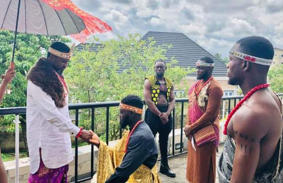 Scenes as Nollywood Stars Storm Calabar For Esta – The Movie!