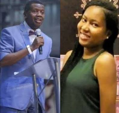 Pastor Adeboye reacts to alleged rape, murder of UNIBEN student inside RCCG church