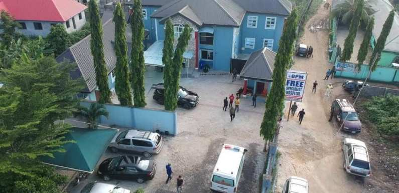 OPM shuts down Free Specialist Hospital in Rivers due to Community levies