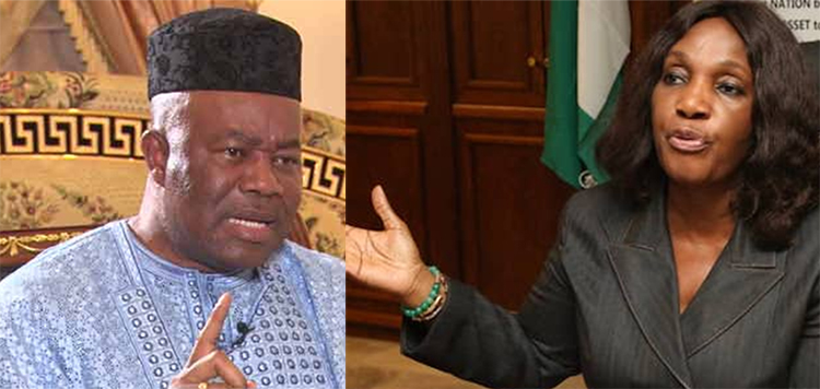 Former NDDC boss says Akpabio led efforts to steal funds at commission, forces her to take oat (Video)