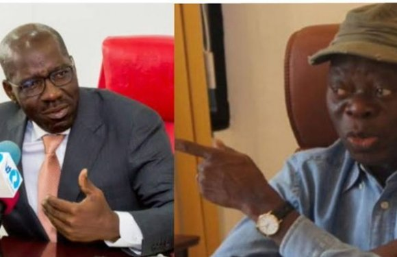 Edo guber: Don't focus on me, I'm not a candidate – Oshiomhole to PDP
