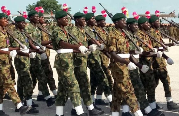 Recruitment: Nigerian Army opens portal for registration