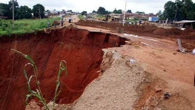 Gully erosion sacks 3,000 families in Imo