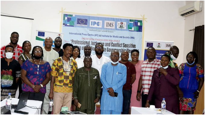 Ondo 2020: Let professionalism be your guide during guber poll – IPC, IMS tell journalists