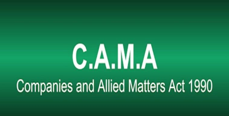 CAMA act to come to force by January 1 – CAC
