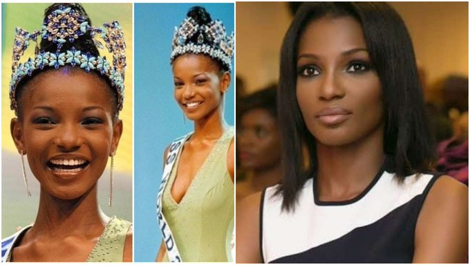 Nigerians express anger over Google's listing of Agbani Darego as ugliest Miss World ever