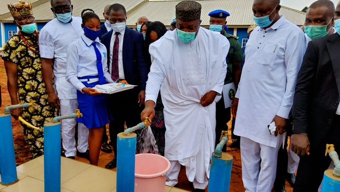 Gov. Ugwuanyi inaugurates multiple school projects