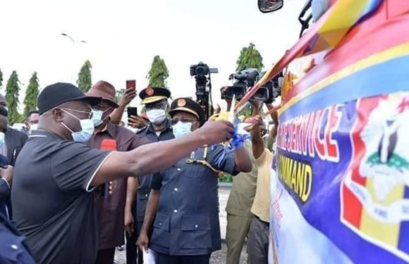 Abia's Ikpeazu commissions fire fighting truck