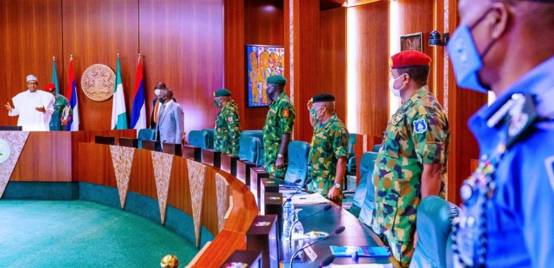End SARS: Buhari presides over NSC meeting
