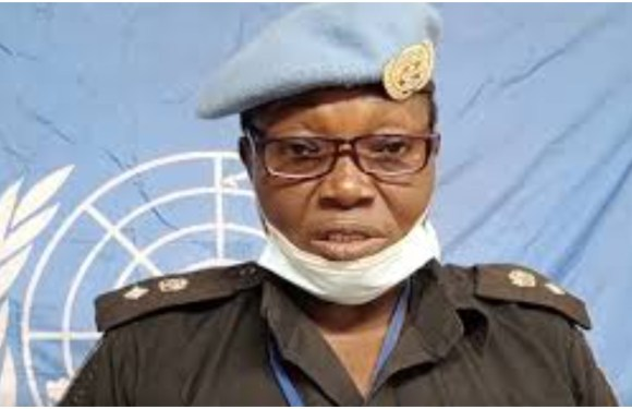Nigeria's Catherine Ugorji emerges runner-up for UN Woman Police Officer of the Year