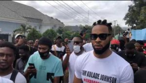 End SARS: Deputy Governor, Flavour, Phyno, join protest in Enugu