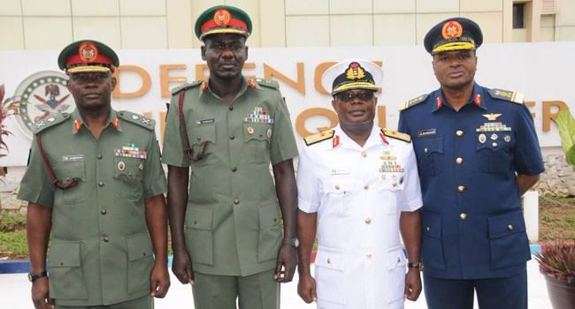 Nigerian Army, Navy promote senior officers to next ranks