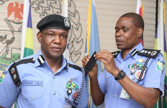 Frank Mba Promoted To The Rank Of A Commissioner Of Police (photos)