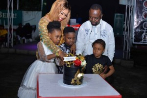 Exclusive! Photos from the Official Unveiling of Chikam's Fashion House in Uyo 54