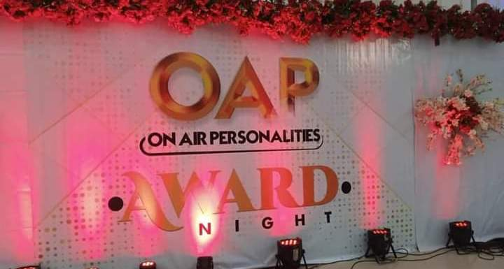 Breakdown of all Winners at the OAP Award Night held in Akwa Ibom