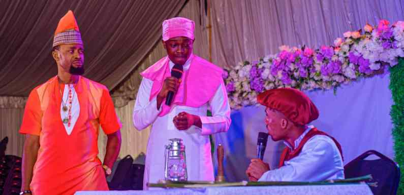 Laff Nation makes History with 'Ufok Akam' live on stage in Uyo (pictures)