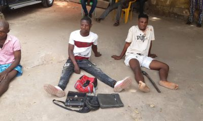 Anambra police arrest four suspected armed robbers, recover arms, ammunition
