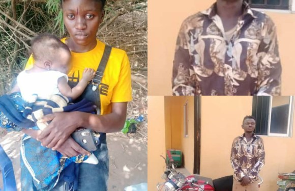 Okada Rider Arrested In Anambra For Snatching Baby From Motther