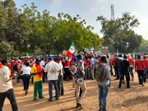 NLC storms National Assembly, protest moves to reclassify minimum wage 10