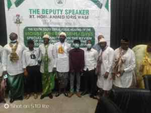 EYU represents EKID nation at Zonal public hearing on the review of the 1999 Constitution in Uyo, Akwa Ibom State