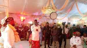 Gov. Udom's aide, Utang Akwa Ibom returns to First Love; plays Master of Ceremony at a Wedding