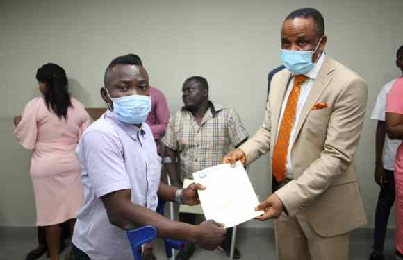 NDDC boss presents letters of employment for twelve physically challenged persons