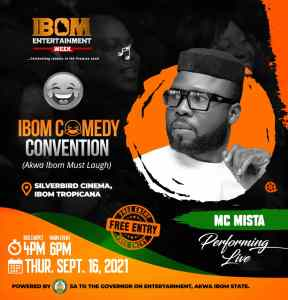 Ibom Entertainment Week unveils Ibom Comedy Convention