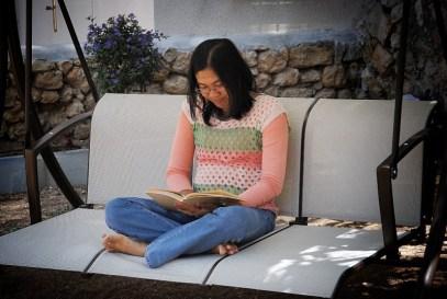 arlyne-studying