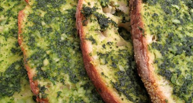 Basil Butter Bread Recipe - NDTV Food