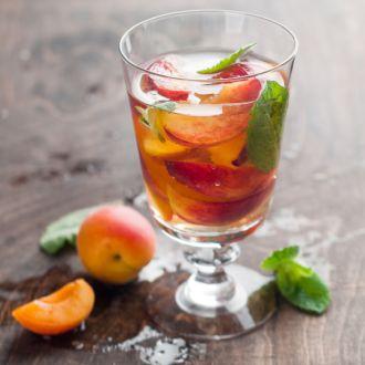 Image result for peach tea
