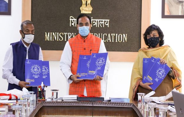 Education Minister Launches 'SARTHAQ', NEP Implementation Plan For School Education