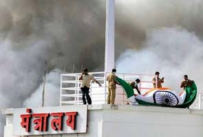 Mantralaya fire: The bravery of fire-fighters on display