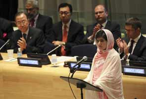 Malala Yousafzai invokes Mahatma Gandhi in her UN speech