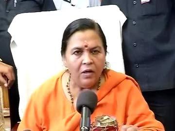 Uma Bharti Defends Smriti Irani, Asks, 'What is Sonia Gandhi's Qualification'?