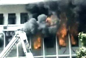 Fire at the Mantralaya, Nariman Point, Mumbai