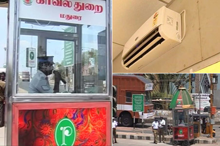 Madurai's traffic cops to get booths with ACs
