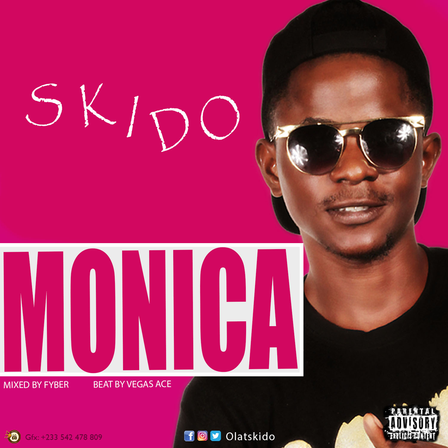 Skido - Monica (Kuami Eugene Cover) (Mixed by Fyber Beatz)