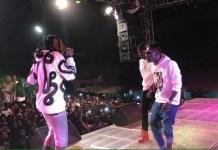 Video: Shatta Wale's performance at Abetifi