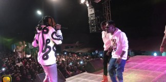 Video: Shatta Wale's performance at Abetifi