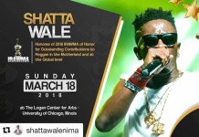 Shatta Wale to be honoured at 2018 IRAWMA
