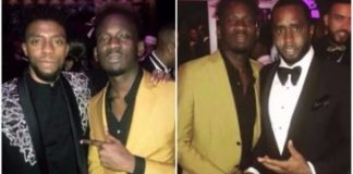 Mr Eazi Shares Photos Of The Moment With Drake, Diddy, Tyler Perry, 'Black Panther' Stars