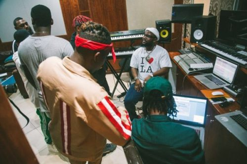 YCEE & Cassper Nyovest Link Up To Work On A New Song (PHOTOS)