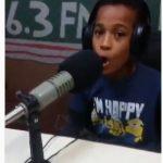 'Junior Shatta Wale' in the making as little boy raps 'Gringo' lyrics