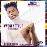 Kwesi Arthur nominated for Viewer's Choice 'Best International Act'