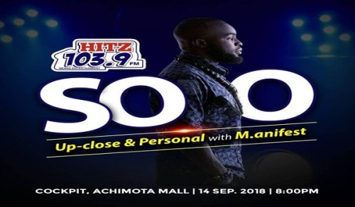 M.anifest to headline maiden Hitz FM SOLO event
