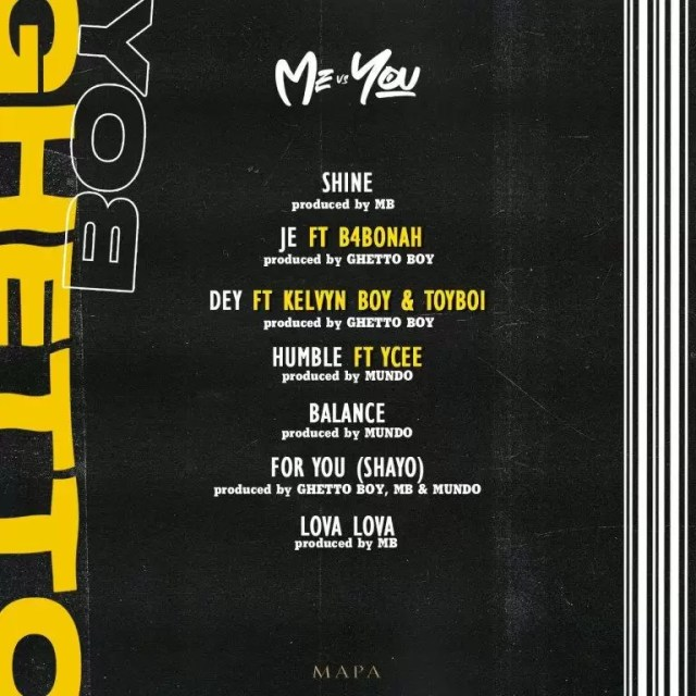 Ghetto Boy – Dey ft. Kelvyn Boy x Toyboi (Prod by Ghetto Boy)