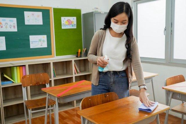 limpieza del aula