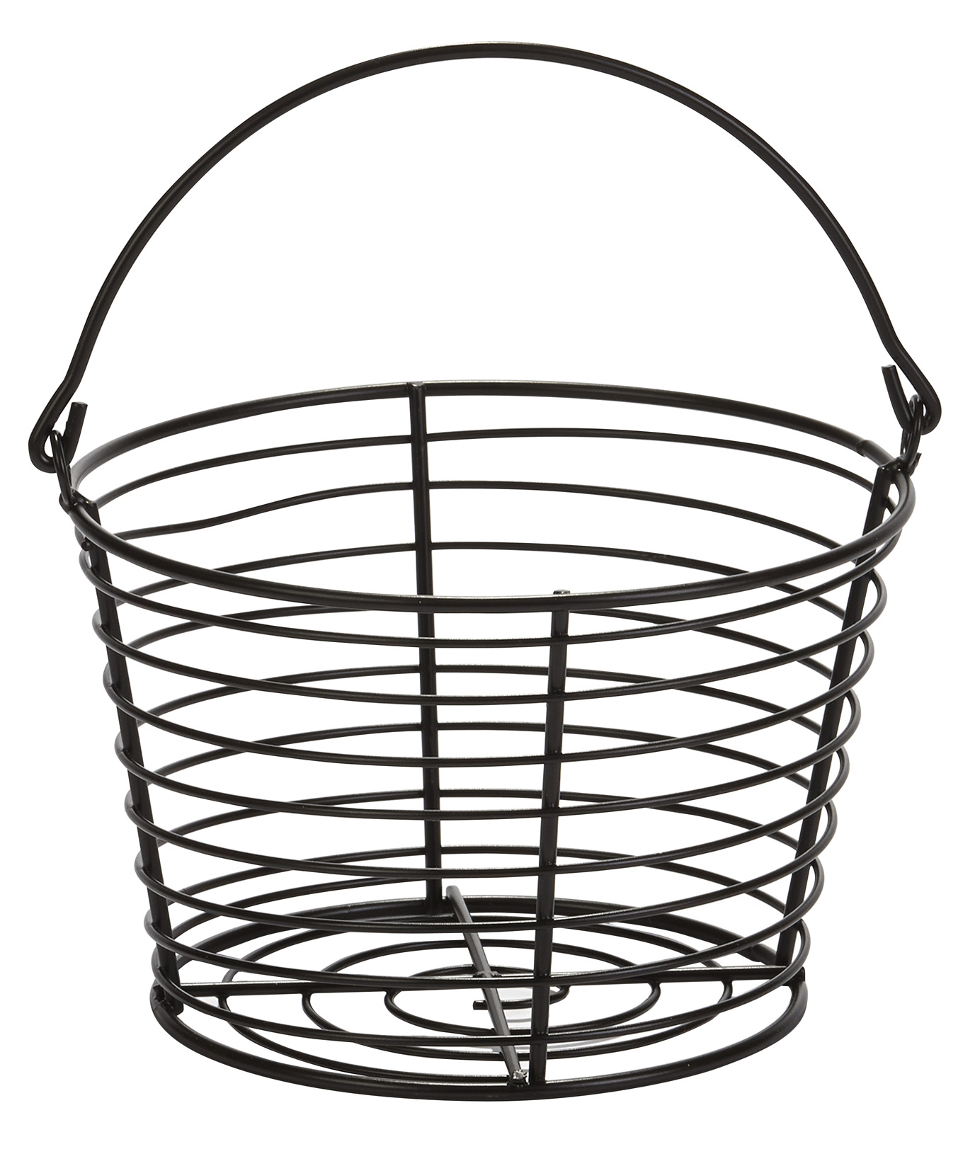 Egg Basket Small Plastic Coated Wire 8 X 8 X 5