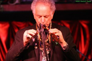 David Amram blows at 2012 Bash