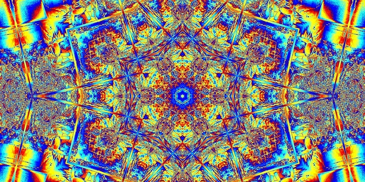 Path: fractal image that resembles a psychedelic mandala.